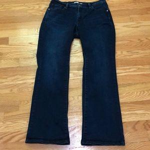 Levi 529 Curvy Bootcut jeans